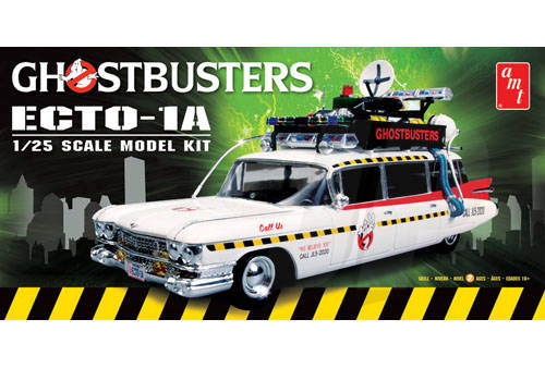 AMT 750M 1/25 Ghostbusters Ecto-1