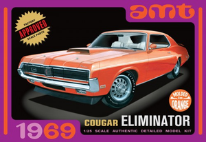 AMT 912 1/25 1969 Mercury Cougar - Orange