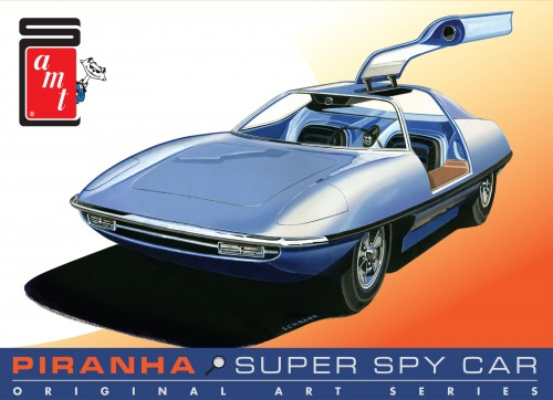 AMT 916 1/25 Piranha Spy Car - Original Art Series