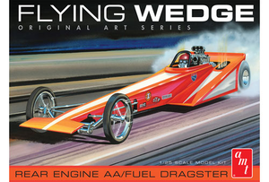 AMT 927 1/25 Flying Wedge Dragster - Original Art Series
