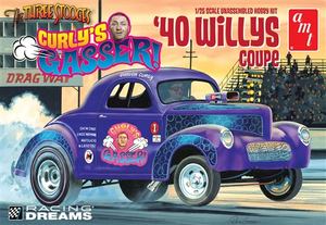 AMT 939 1/25 Curly's Gasser 1940 Willys Coupe