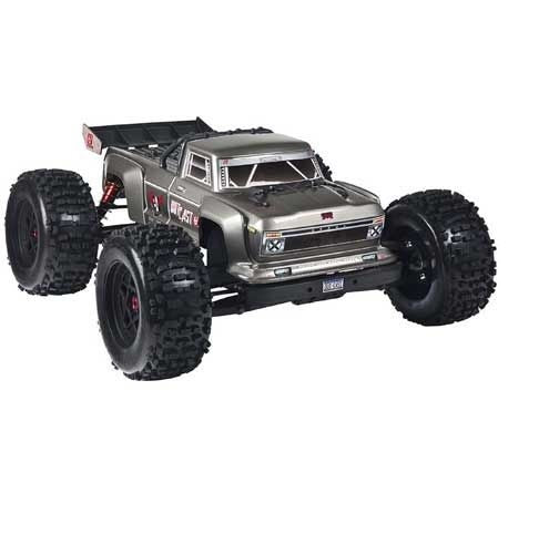Arrma Outcast 6S BLX Ready to run 4WD Stunt Truck Silver