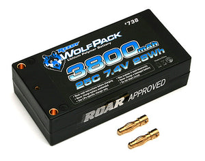 7.4v 3800mah 25C Shorty WolfPack
