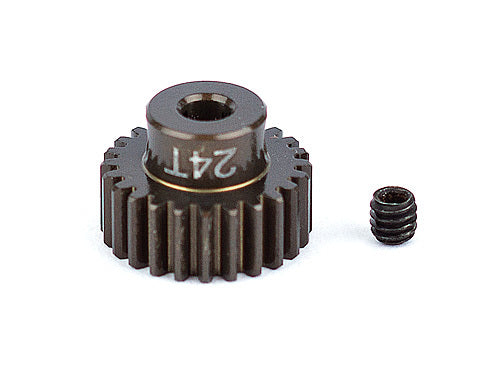FT Aluminum Pinion Gear, 24T 48P