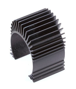 TC4 Motor Heatsink, black alum