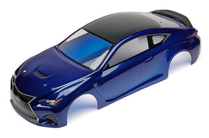 Lexus RC F Body, blue