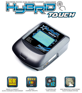 MUCH MORE HYBRID TOUCH AC/DC BALANCE CHARGER - MR-MM-HBTK