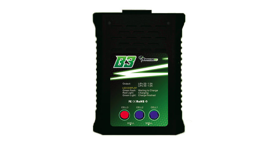 Tornado RC 2-3 Cell Lipo Balance Charger AC Input