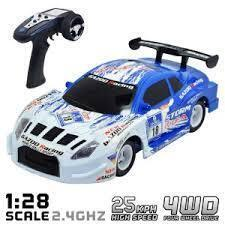 1/24 SCALE RC 4WD TOURING CAR READY TO RUN  25KMH - VT785-4