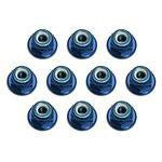 team associated FT Locknuts, 3 mm, aluminum