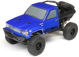 ECX Barrage Scale Crawler, 1/24 4WD Ready to run Blue