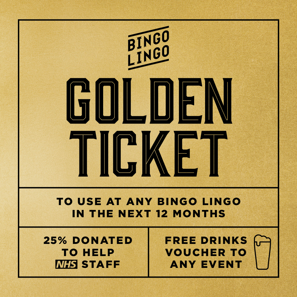 Bingo Lingo Golden Ticket