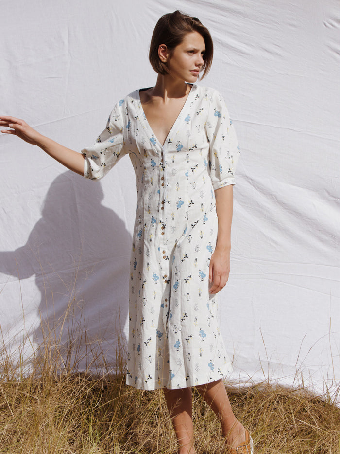 The Coco Midi Dress Wildflower RYDER