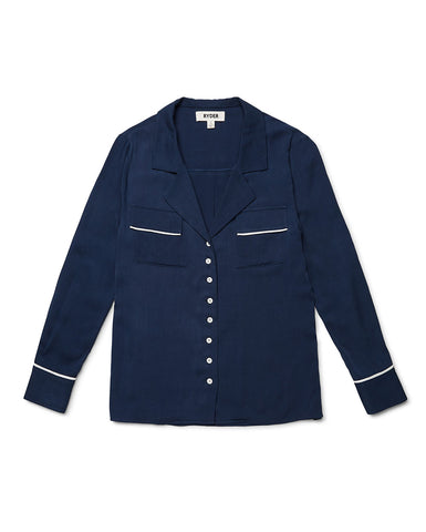 Matilda shirt Navy