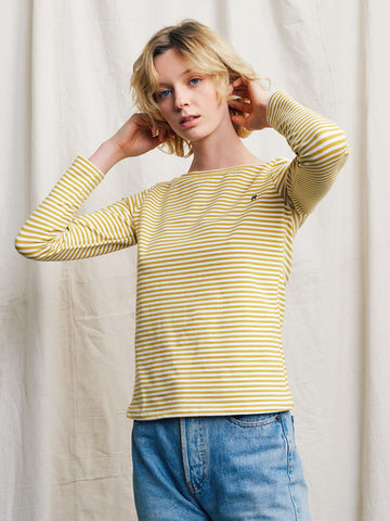 Lora Long Sleeve Top Wattle