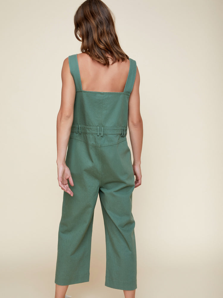 Pip Denim Overalls Green