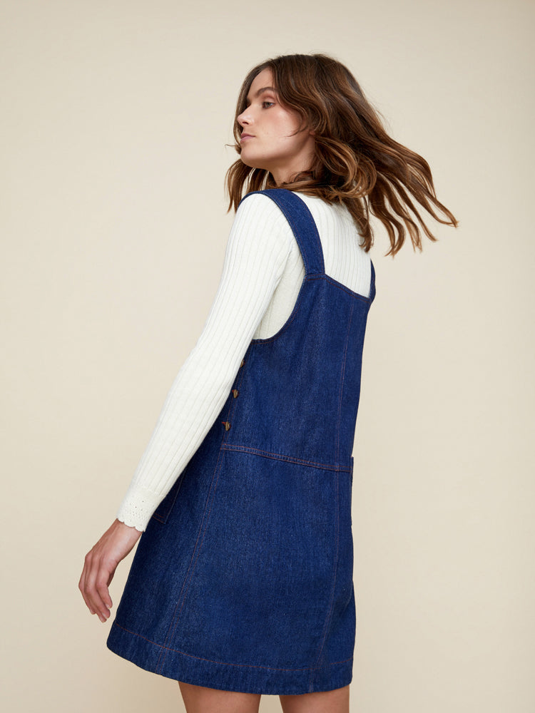 Pip Denim Pinafore