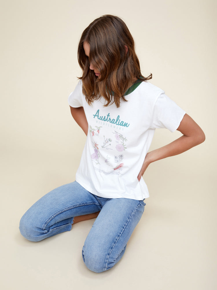 The Wildflower Tee by RYDER