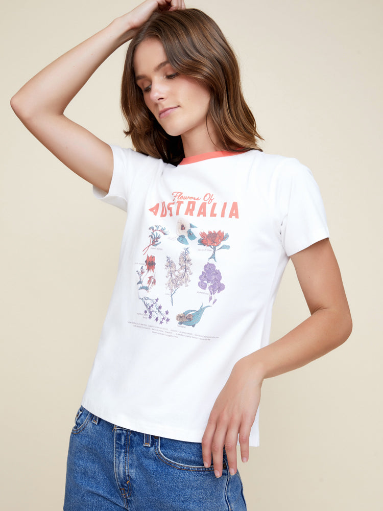 State Flora Tee
