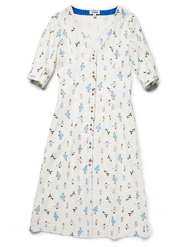 Coco Midi Dress Wildflower