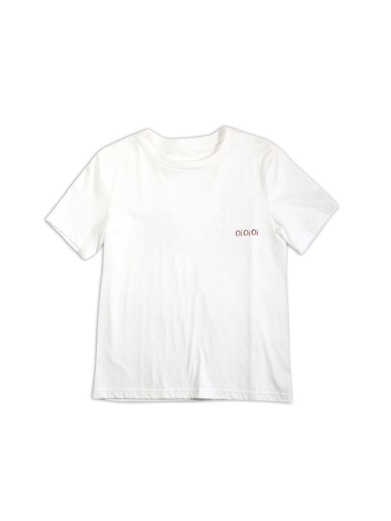 Basic Organic Cotton Tee - White