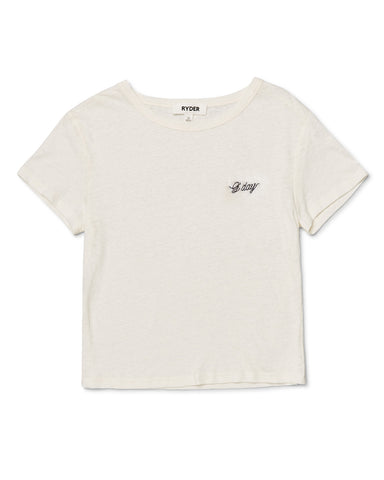 G'day Embroidered Tee