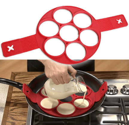 Nonstick Pancake Egg Ring Maker - giftitemsstore