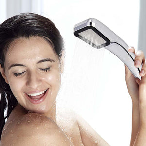 Pressure Rainfall Shower Head - giftitemsstore