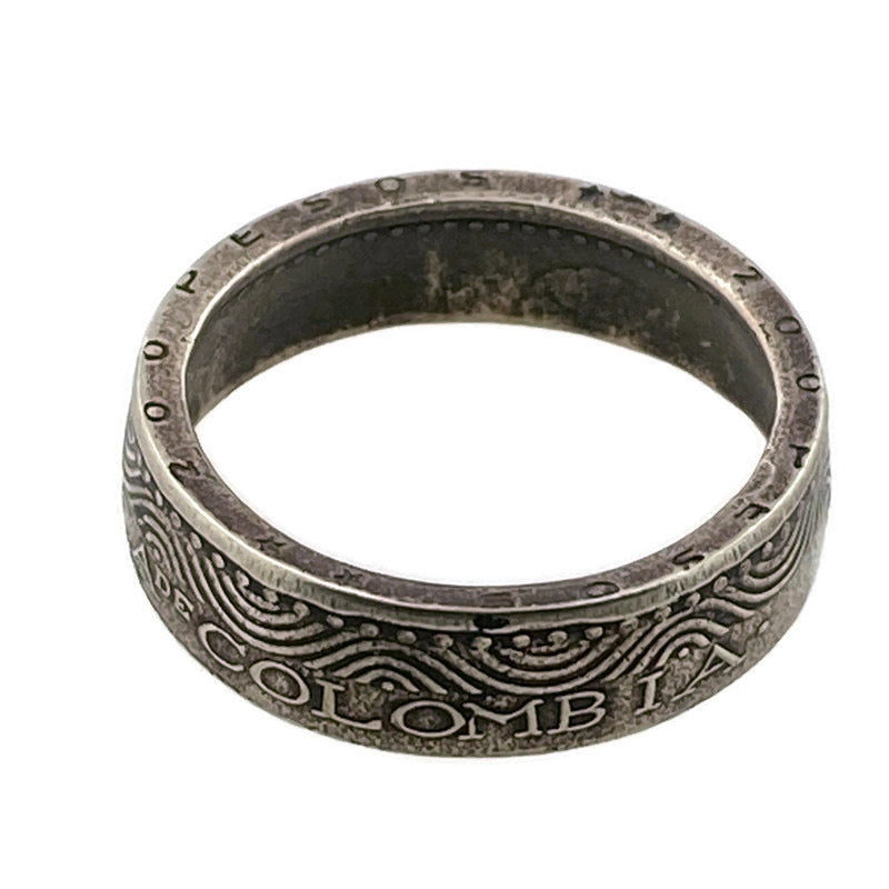 Colombia Coin Ring - Size 8