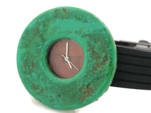 Load image into Gallery viewer, Patina Watch with Antique Copper  Dial Rubber Band
