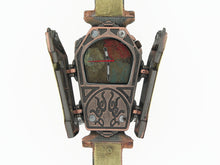 Load image into Gallery viewer, Copper & Brass Coffin Watch, Multicolor Dial
