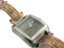 Load image into Gallery viewer, Copper & Brass Watch, bluer Dial