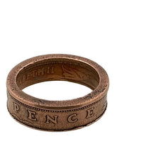 Load image into Gallery viewer, New Pence Coin Ring - Size 7