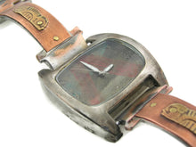 Load image into Gallery viewer, Copper & Brass Watch, multicolor Dial