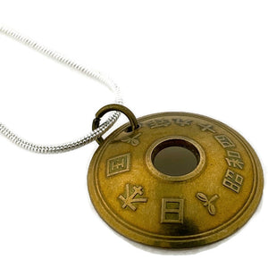 Japan Five Yen Coin Necklace