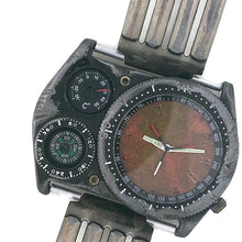 Load image into Gallery viewer, Men's Large Dial Watch with Compass And Thermometer