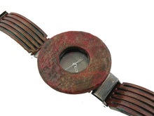 Load image into Gallery viewer, Patina Watch with Antique Multi Color Dial