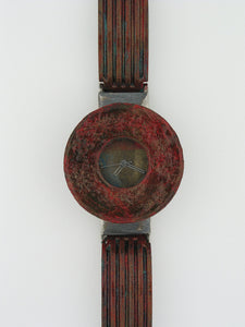 Patina Watch with Antique Multi Color Dial