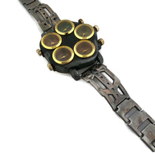 Load image into Gallery viewer, Men's Large Dial Five Time Zone Watch
