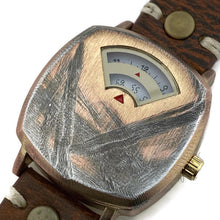 Load image into Gallery viewer, Rotary Numeric Watch With White Dial Leather Band