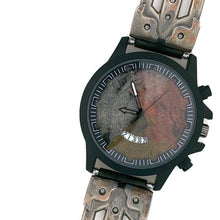 Load image into Gallery viewer, Men's Watch with Date, Three Tone Dial