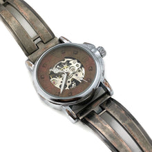 Load image into Gallery viewer, Small Automatic Mechanical Watch, Copper Dial