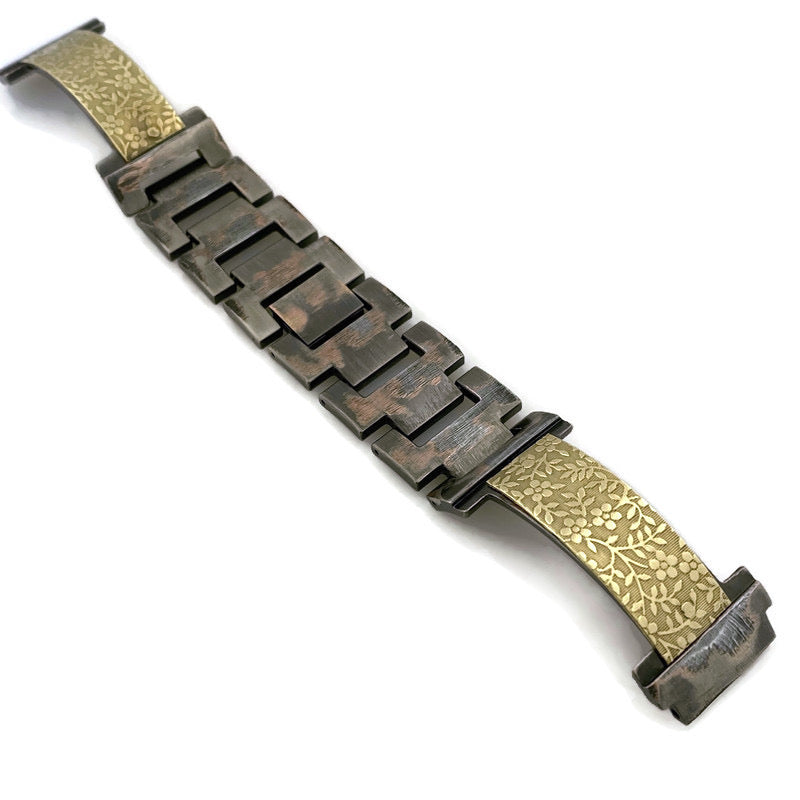 18 MM Brass Watch Band
