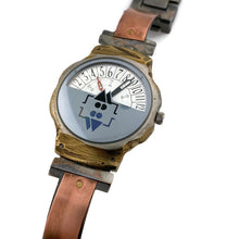 Load image into Gallery viewer, Men's Copper Watch With Military Time