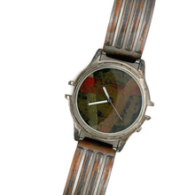 Load image into Gallery viewer, Men's Large Watch with Multi Color Dial