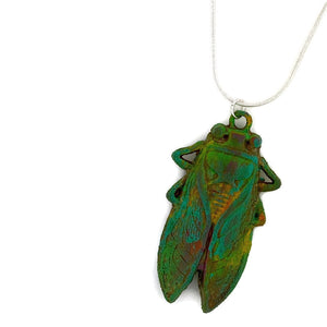 Cicada Patina Necklace