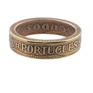 Portugal Coin Ring -Size 7 1/2