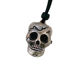 Load image into Gallery viewer, Skull Watch Pendant Necklace, Copper Dial