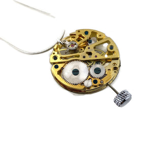 Watch Movement Necklace