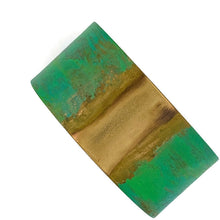 Load image into Gallery viewer, Brass Patina Cuff Bracelet